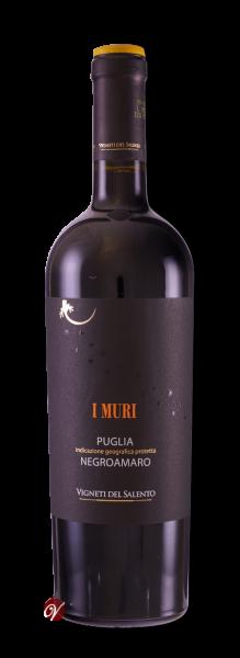 Negroamaro Puglia IGT I Muri 2017 Vign.Salento