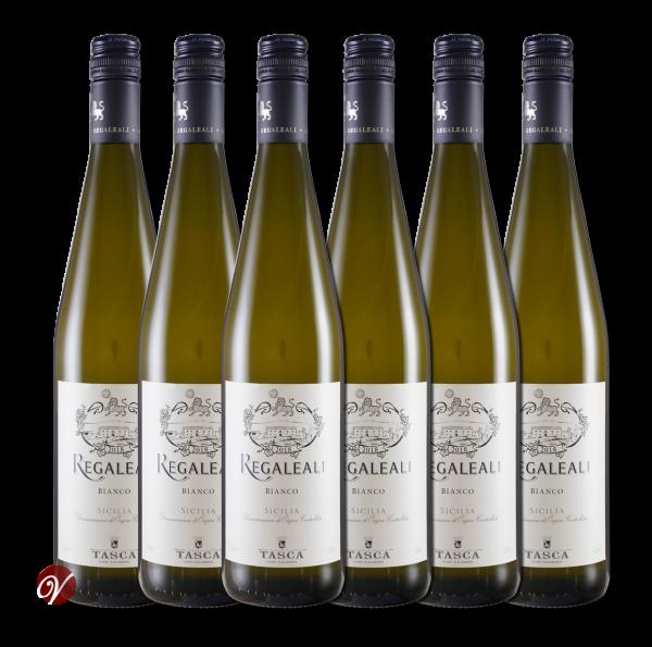 Regaleali Bianco Sicilia DOC 2018 (6 Fl. x 0.75l) Tasca