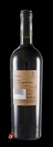 Il-Lemos-Susumaniello-Salento-IGT-2018-Castris-Leone-de-Cast